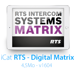 iCatalogue RTS Matrix !
