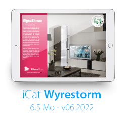 Télécharger le iCatalogue WYRESTORM !