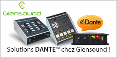 Solutions DANTE™ chez Glensound !
