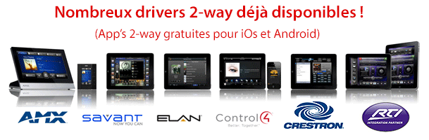 Drivers disponibles