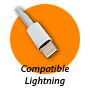 Compatible connecteur Lightning